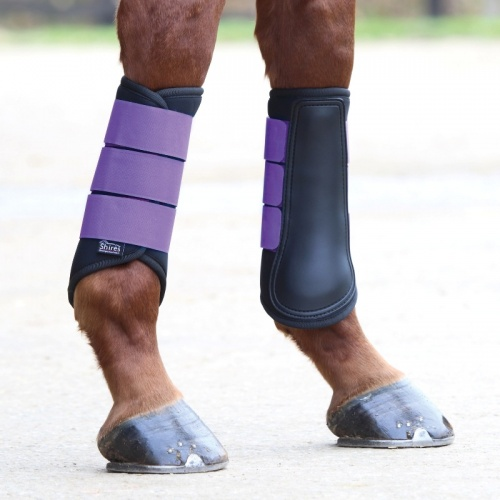 Neoprene Brushing Boots from Shires Equestrian