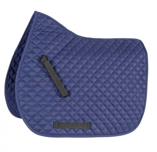 Shires Wessex Quilted Saddlecloth Navy