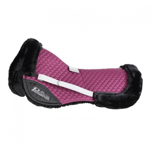 Performance Half Pad Plum from Shires Equestrian