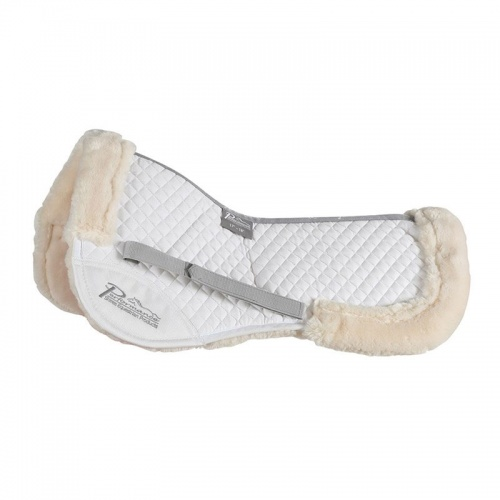 Performance Half Pad White from Shires Equestrian