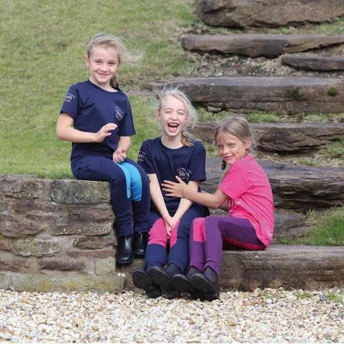 Children's Wessex Two Tone Jodhpurs from Shires Equestrian