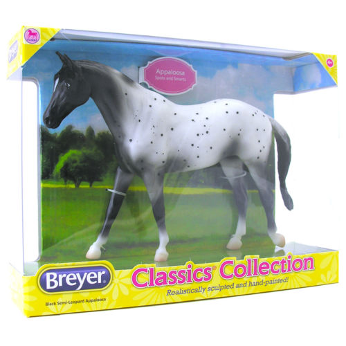 Breyer Classics Black Semi Leopard Appaloosa