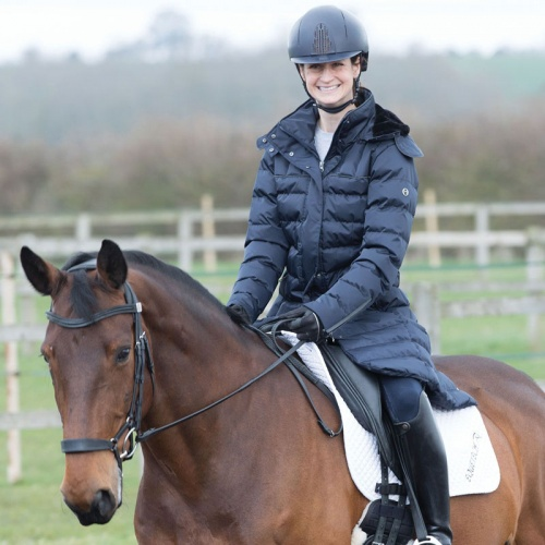 Alpha Long Padded Coat From Equetech