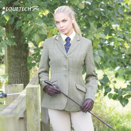 Foxbury Classic Tweed Riding Jacket from Equetech