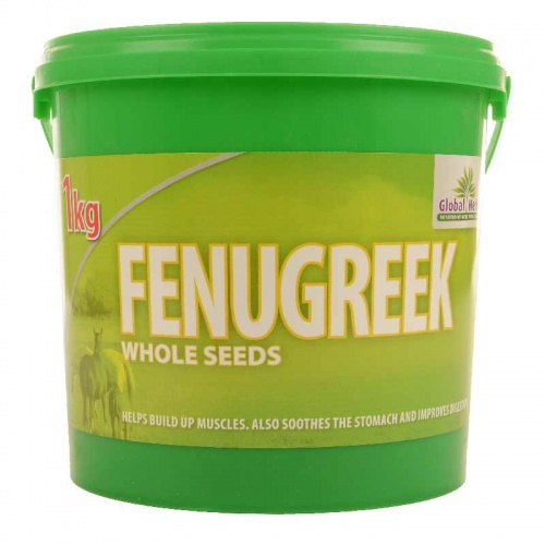 Whole Fenugreek Seeds 1kg from Global Herbs