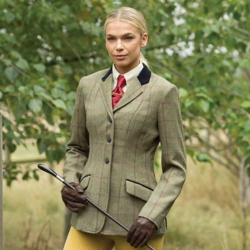 Junior Launton Deluxe Tweed Riding Jacket from Equetech