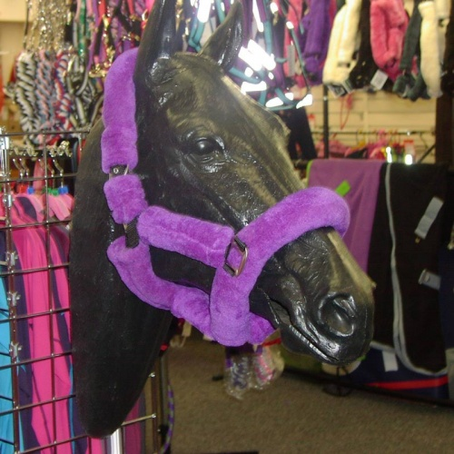 Deluxe Fur Head Collar Purple from Cameo Equestrian