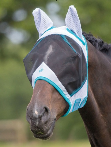 Full Face Fly Mask with Ears from Bridleway