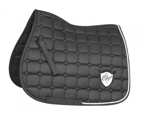 Bridleway Signature Quilted Saddlecloth Black