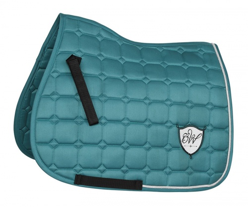 Bridleway Signature Quilted Saddlecloth Green