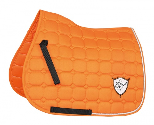 Bridleway Signature Quilted Saddlecloth Orange
