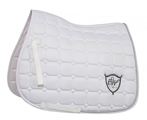 Bridleway Signature Quilted Saddlecloth White