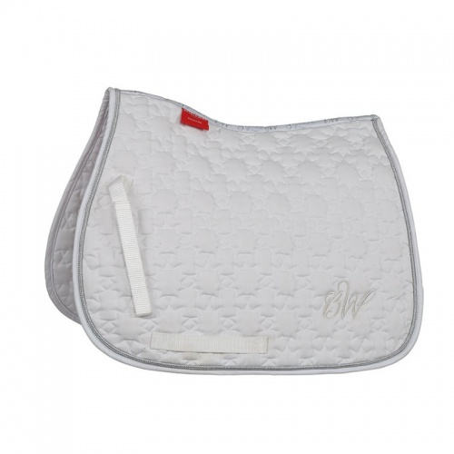 Bridleway Signature Star Quilt Saddlecloth White