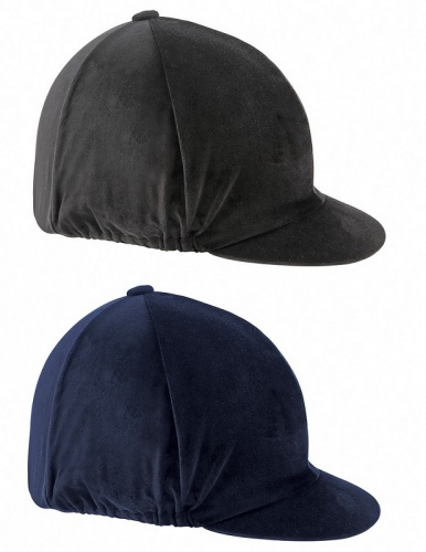 Velvet Hat Cover from Shires Equestrian