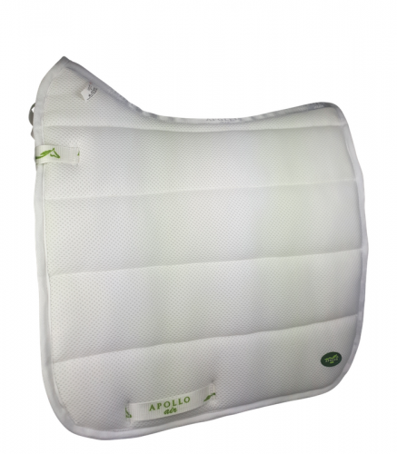 Apollo Air Comfort Dressage Pad White