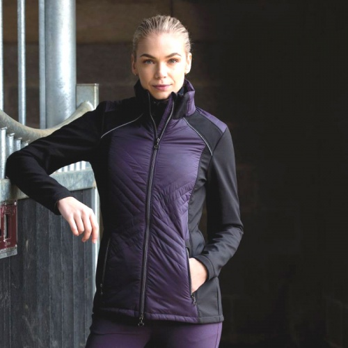Equetech Apollo Quilted Soft Shell Lightweight Jacket
