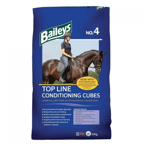 Bailey's No 4 Top Line Conditioning Cubes 20kg