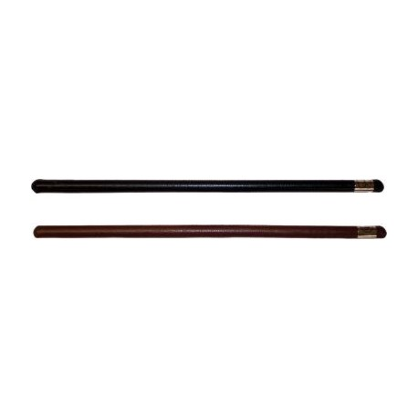 Leather Covered Showing Cane in various lengths
