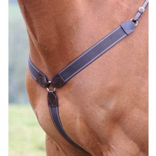 Shires Blenheim Eventing Breastplate Havana