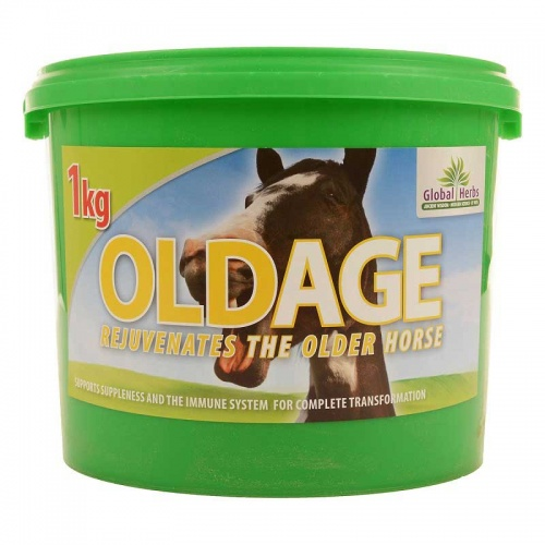 Old Age Horse Supplement from Global Herbs