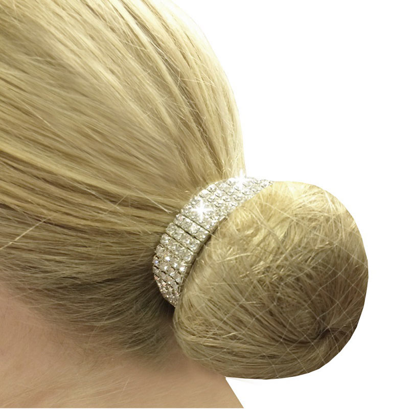 how to put a bun ring in