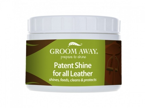 Patent Shine For All Leather from Groom Away 200gms