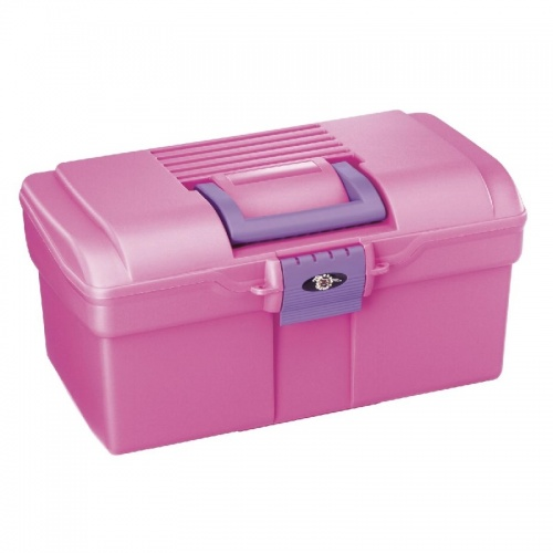 Candy Pink Grooming Box from Pro Tack