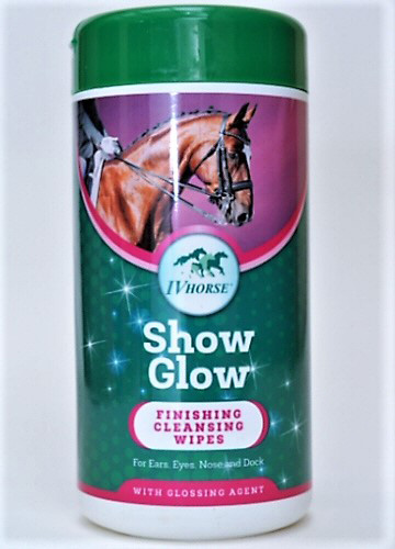 Show Glow Finishing Wipes from IV Horse