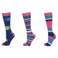 HyFashion Fairisle Socks Ladies UK 4 - 8