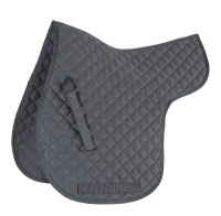 Shires Wessex Quilted Numnah Black
