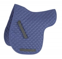 Shires Wessex Quilted Numnah Navy