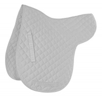 Shires Wessex Quilted Numnah White