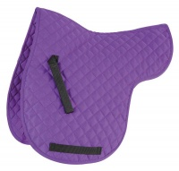 Shires Quilted Numnah Purple