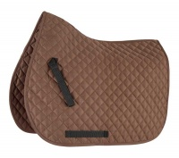 Shires Wessex Quilted Saddlecloth Brown