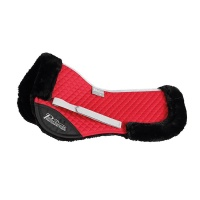 Performance Half Pad Deep Red from Shires Equestrian