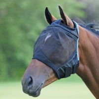 Fine Mesh Fly Mask with Ear Holes from Shires Equestrian