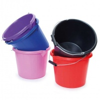 Bucket with Handle 15 Ltr from Shires Equestrian