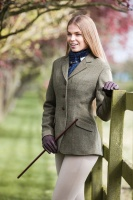 Claydon Tweed Riding Jacket from Equetech
