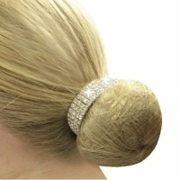 Crystal Bun Ring from Equetech