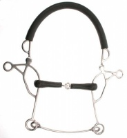 14cm Jointed Combination Hackamore Bit From Abbey Bitz