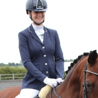 Jersey Deluxe Navy Competition Jacket from Equetech