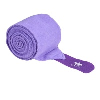 Premium Fleece Bandages from Legacy Equestrian - Lilac