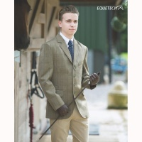 Boys Foxbury Classic Tweed Riding Jacket from Equetech