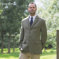 Mens Foxbury Classic Tweed Riding Jacket from Equetech