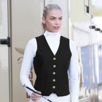 Quantum Black Dressage Waistcoat from Equetech