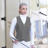 Quantum Grey Dressage Waistcoat from Equetech