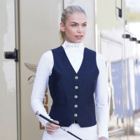 Quantum Navy Dressage Waistcoat from Equetech