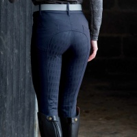 Shaper Navy Breeches from Equetech