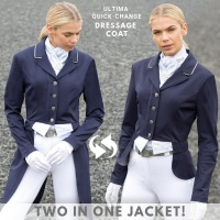 Ultima Quick Change Navy Tailcoat from Equetech