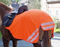 Bridleway Visibility Orange Lightweight Exercise Sheet